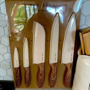 RD 10pc large Knife set with protective covers